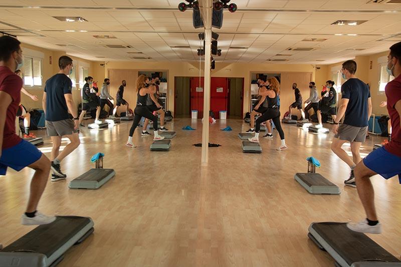 masterclass de aerobic y step en Zaragoza