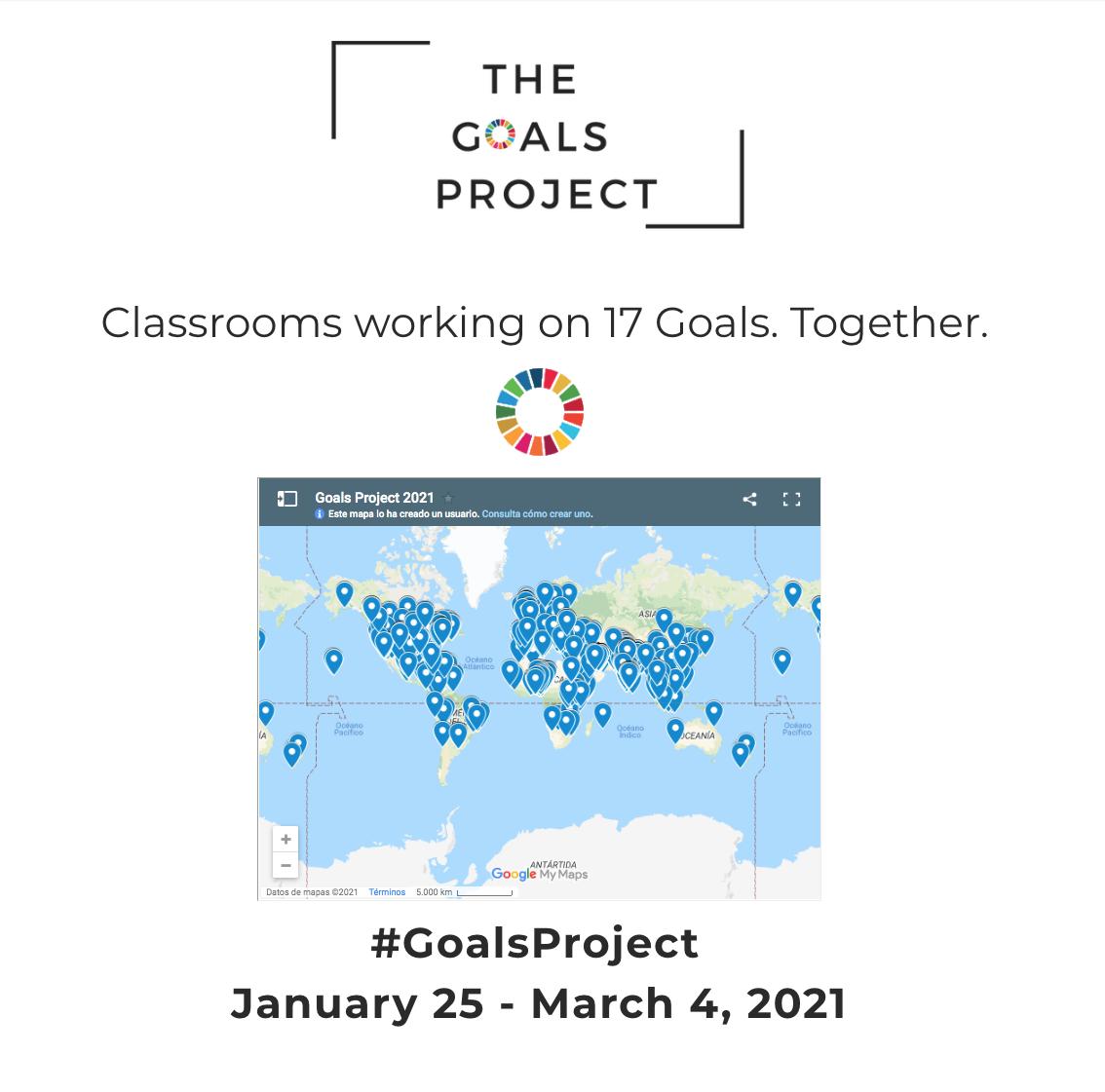 """CPA participa en el proyecto internacional de Desarrollo Sostenible """"The goals project"""""""