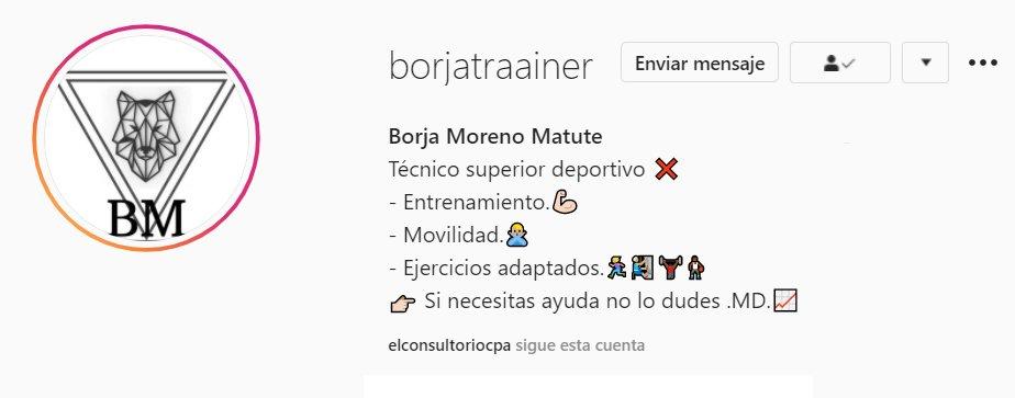 Borja Moreno Instagram