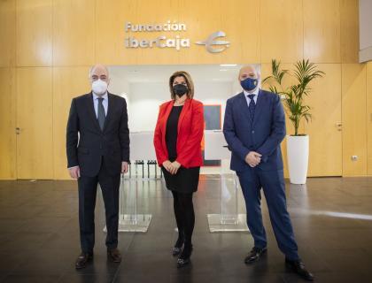 Fundación Ibercaja y Grupo San Valero firma