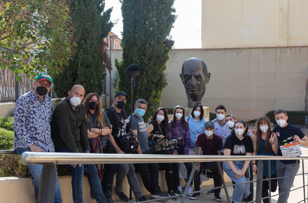 Documental Benito Pérez Buñuel alumnos CPA Salduie
