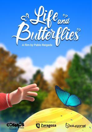 Cartel 'Life & Butterflies'